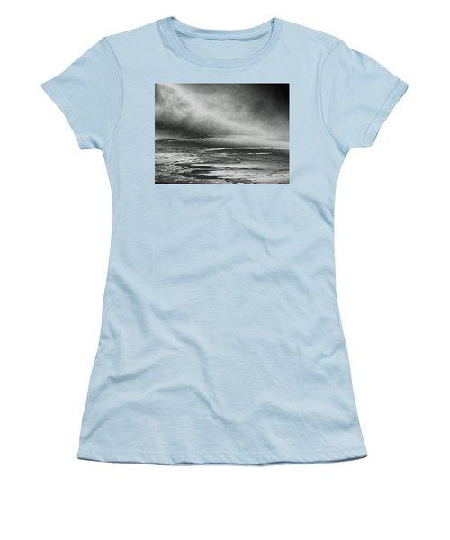 Winter's Song Women's T-Shirt (Junior Cut) by Steven Huszar