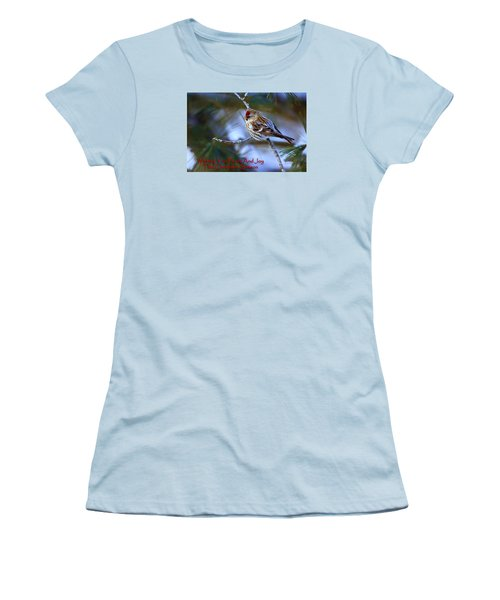 Women's T-Shirt (Junior Cut) featuring the photograph Wishing You Peace And Joy by Gary Hall