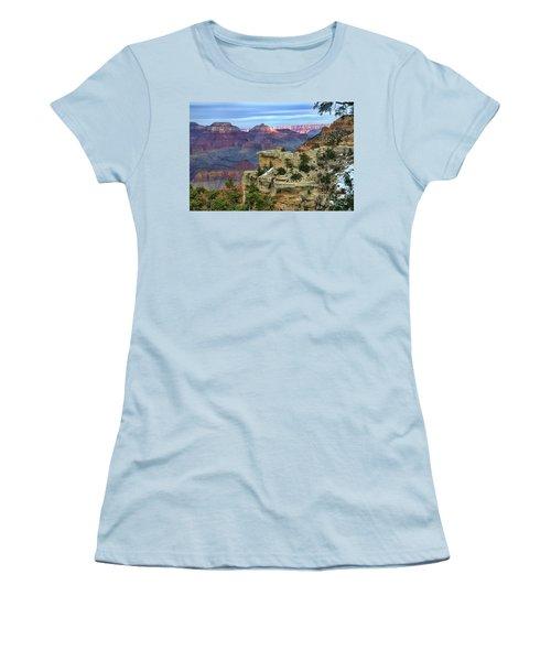 Yavapai Point Sunset Women's T-Shirt (Junior Cut) by Diana Mary Sharpton