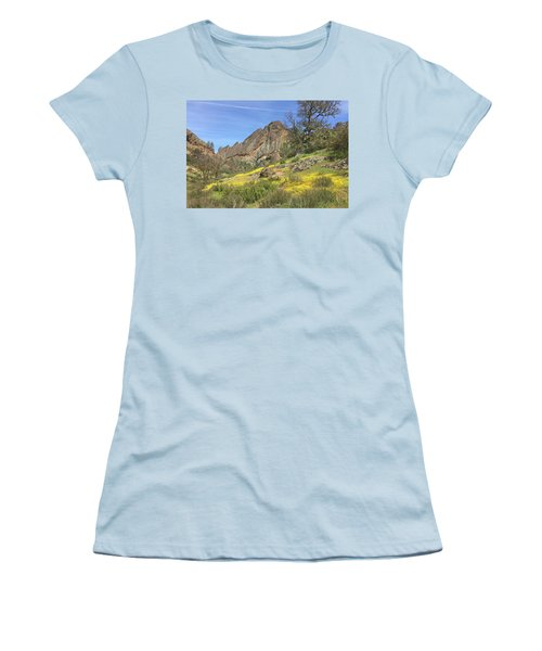 Women's T-Shirt (Junior Cut) featuring the photograph Yellow Carpet by Art Block Collections