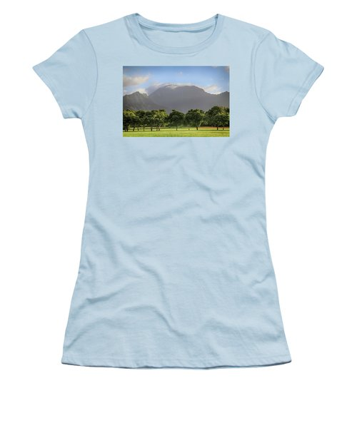 Women's T-Shirt (Junior Cut) featuring the photograph You Still Can Touch My Heart by Laurie Search