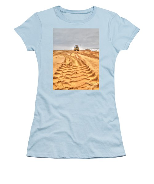 Yury Bashkin The Road On The Construction Women's T-Shirt (Athletic Fit)