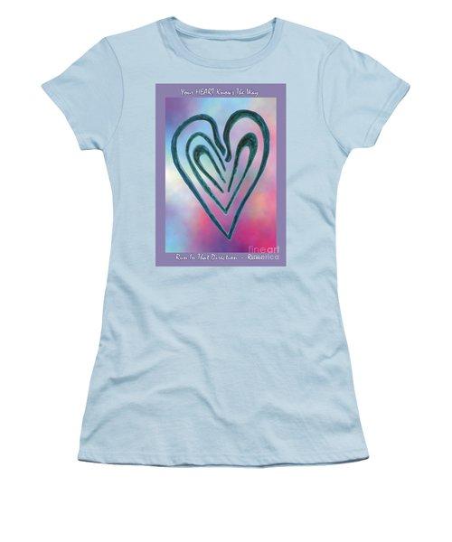 Zen Heart Labyrinth Women's T-Shirt (Athletic Fit)