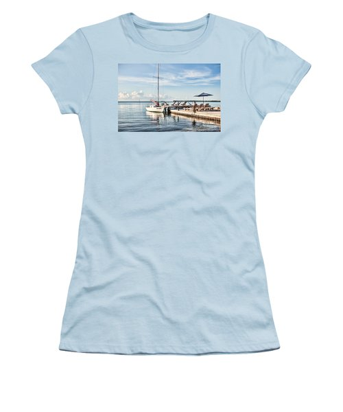 Women's T-Shirt (Junior Cut) featuring the photograph Zen Say by Lawrence Burry