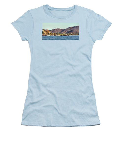 Zihuatanejo Bay Women's T-Shirt (Athletic Fit)