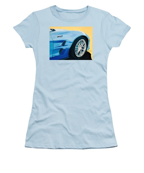 Zr1 Go Faster Women's T-Shirt (Athletic Fit)