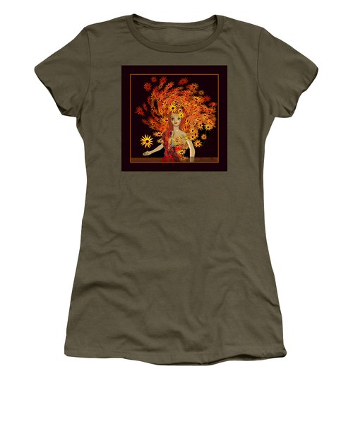 322 - Sweet Child Of Autumn .. Women's T-Shirt (Athletic Fit)