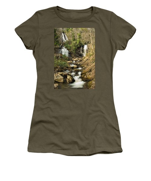 Amacola Falls Women's T-Shirt (Athletic Fit)