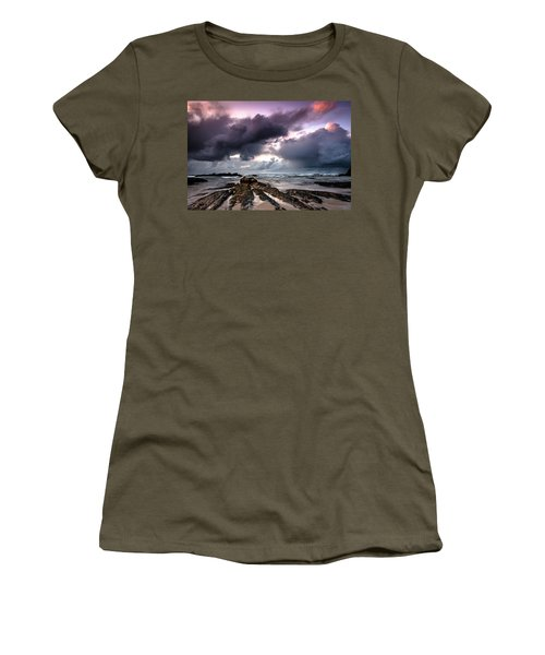 Around The World On A Boat Rock Women's T-Shirt