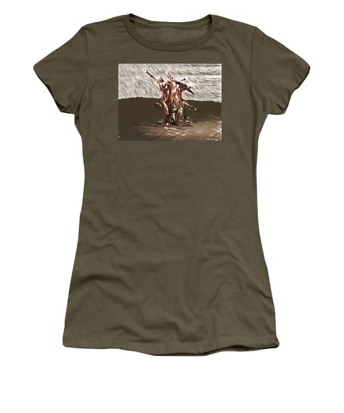 Field Of Pleasures Women's T-Shirt (Athletic Fit)