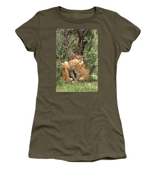 Masai Mara Lion Cubs Women's T-Shirt