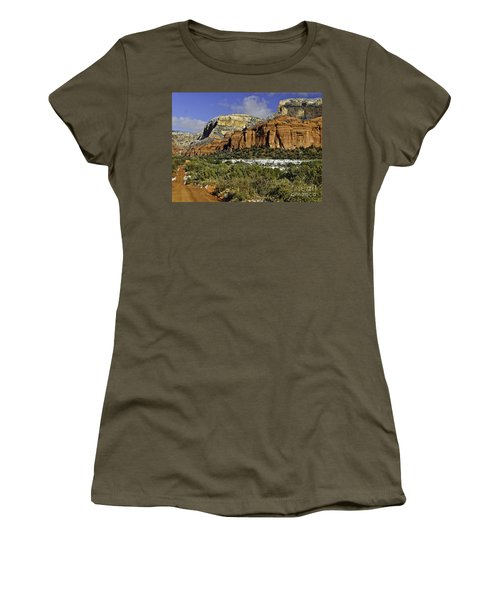 Red Rock-secret Mountain Wilderness Women's T-Shirt