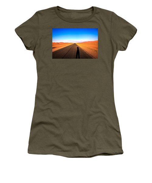 Sossusvlei Park Road Women's T-Shirt (Athletic Fit)