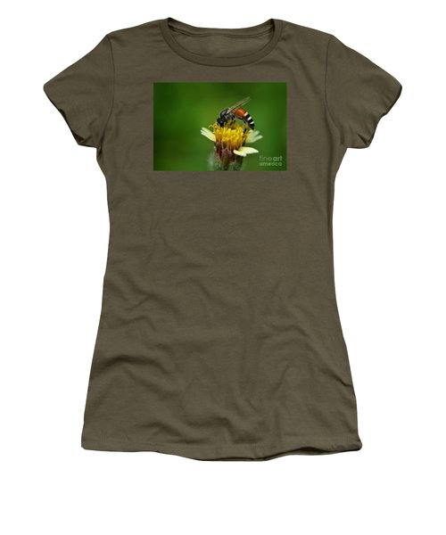 Working Bee Women's T-Shirt (Athletic Fit)