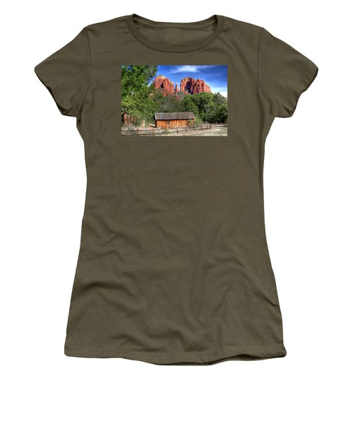 0682 Red Rock Crossing - Sedona Arizona Women's T-Shirt
