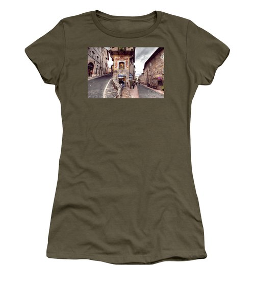 0801 Assisi Italy Women's T-Shirt