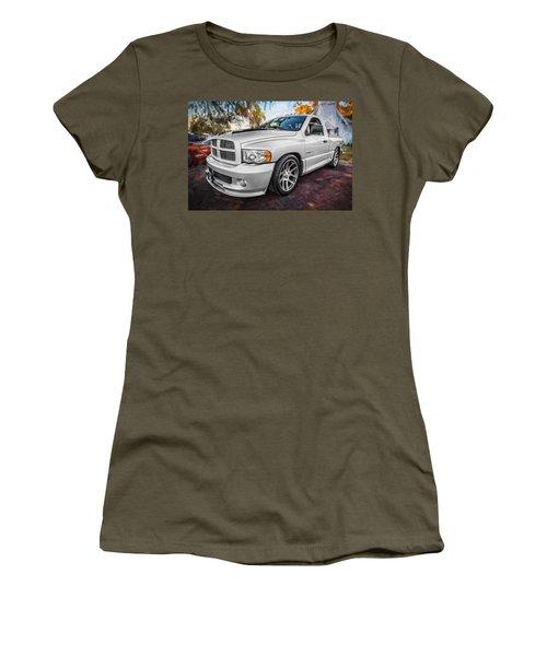 2004 Dodge Ram Srt 10 Viper Truck Painted Women's T-Shirt