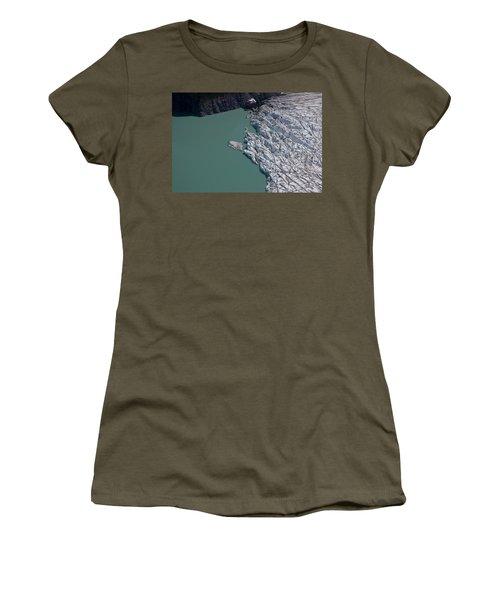 A Silty Glacier-dammed Lake Women's T-Shirt