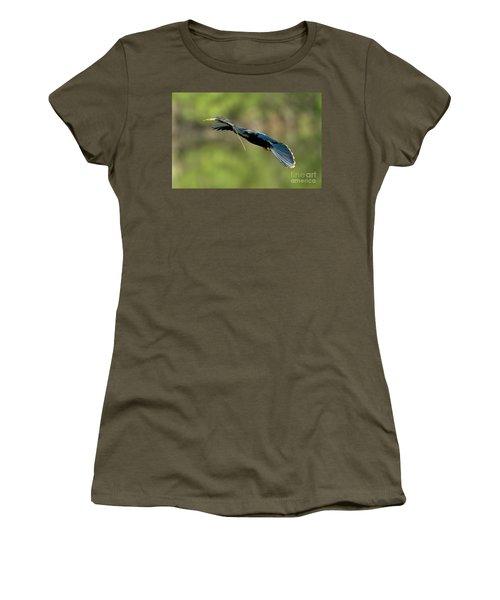 Anhinga Women's T-Shirt (Athletic Fit)