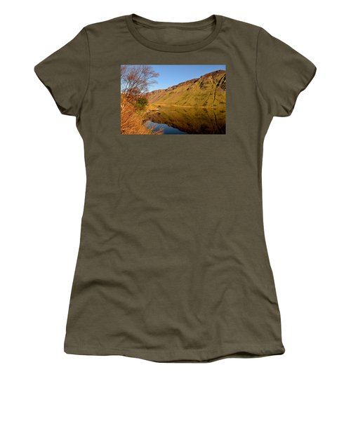 Annascaul Lake Women's T-Shirt (Athletic Fit)