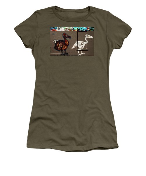 Artistic Graffiti On The U2 Wall Women's T-Shirt (Junior Cut) by Panoramic Images