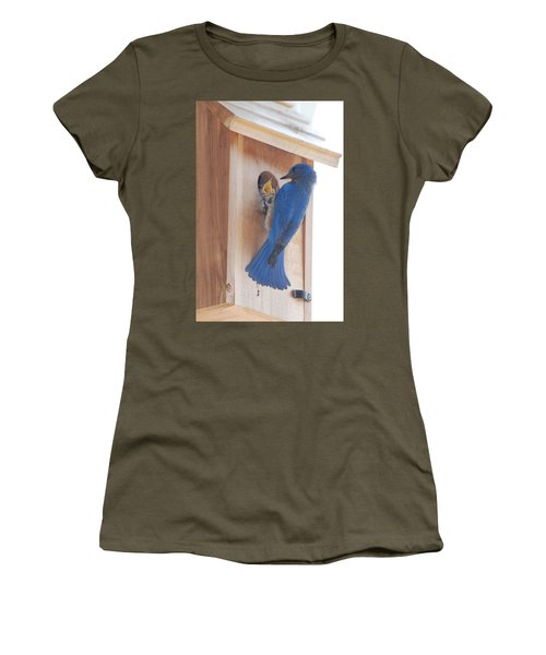 Bluebird Of Happiness Women's T-Shirt
