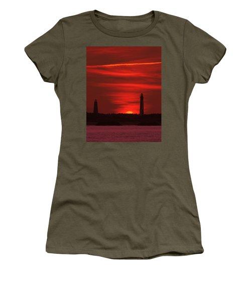 Cape Henry Lighthouses  Women's T-Shirt
