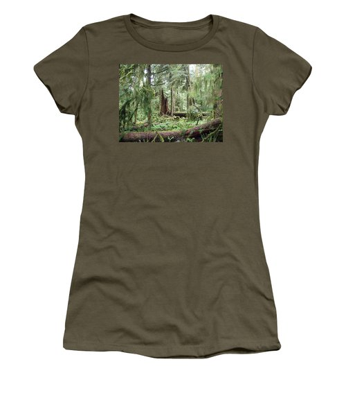 Women's T-Shirt (Junior Cut) featuring the photograph Cathedral Grove by Marilyn Wilson