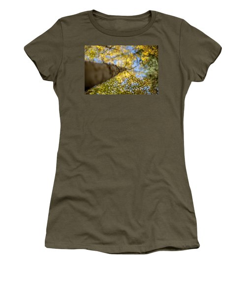 Women's T-Shirt (Junior Cut) featuring the photograph Daydreaming by Aaron Aldrich