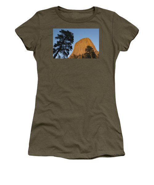 Devils Tower National Monument Wyoming Women's T-Shirt