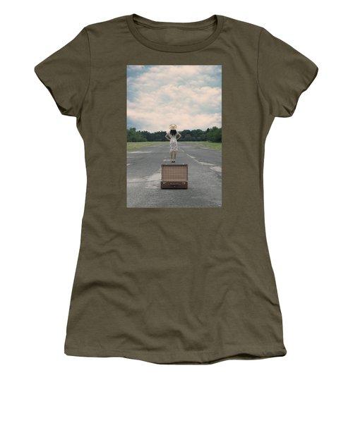 Empty Suitcase Women's T-Shirt