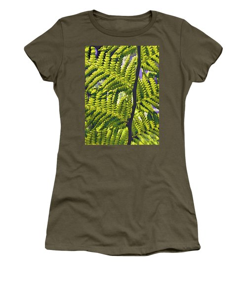 Fern Women's T-Shirt (Athletic Fit)