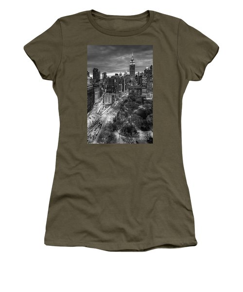 Flatiron District Birds Eye View Women's T-Shirt