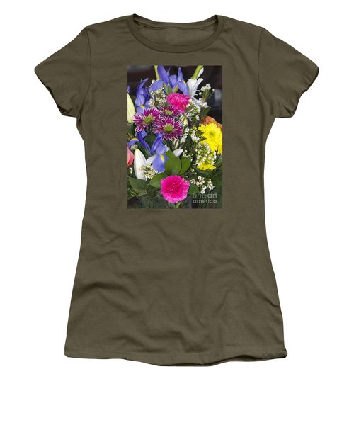 Floral Bouquet 2 Women's T-Shirt (Athletic Fit)