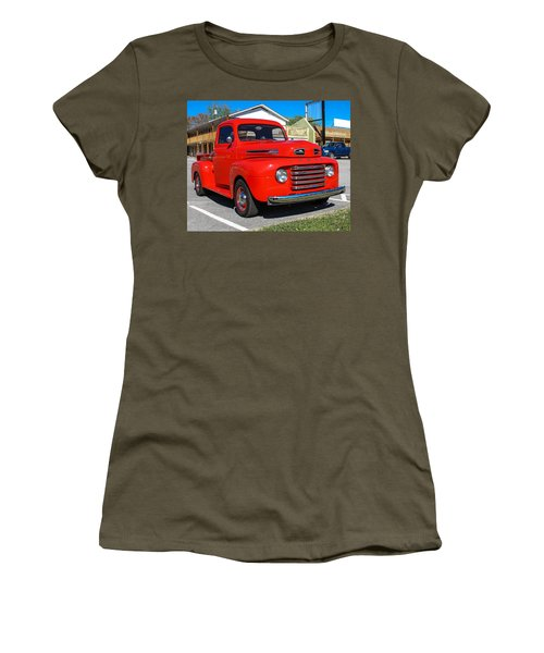 Women's T-Shirt featuring the photograph Ford Truck by Robert L Jackson