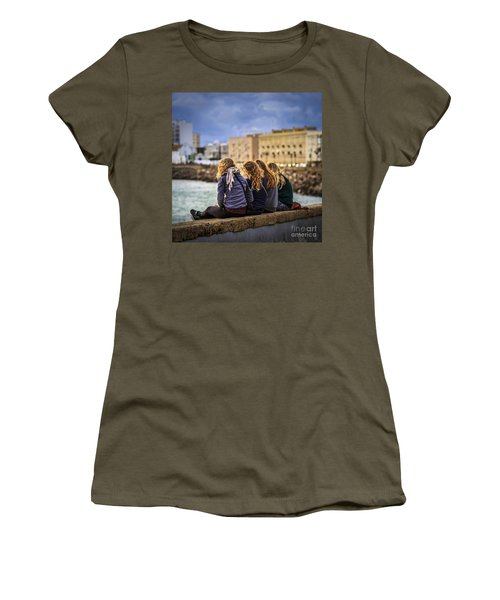 Foreign Students Cadiz Spain Women's T-Shirt