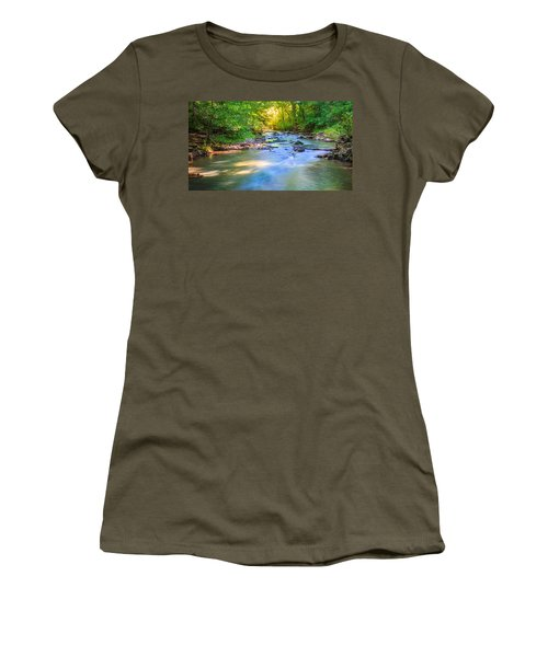 Forest Creek Women's T-Shirt (Athletic Fit)