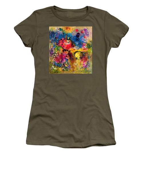 Garden Of Heavenly And Earthly Delights Women's T-Shirt