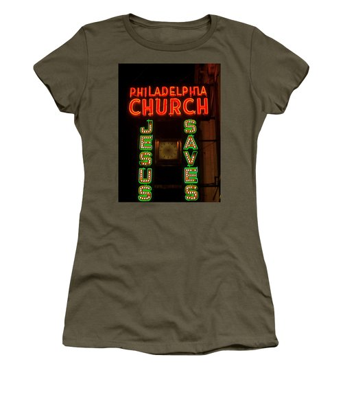 Jesus Saves Women's T-Shirt