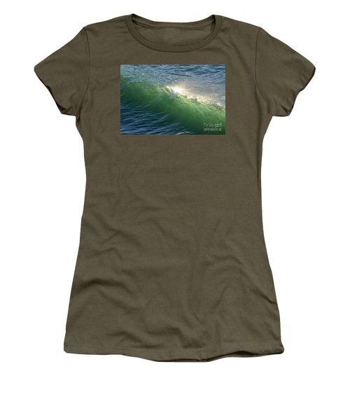 Linda Mar Beach - Northern California Women's T-Shirt (Athletic Fit)