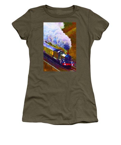 Making Smoke Women's T-Shirt (Athletic Fit)