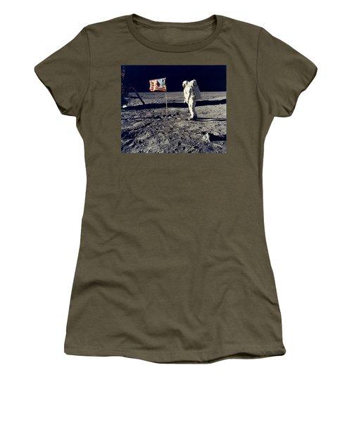 Man On The Moon Women's T-Shirt
