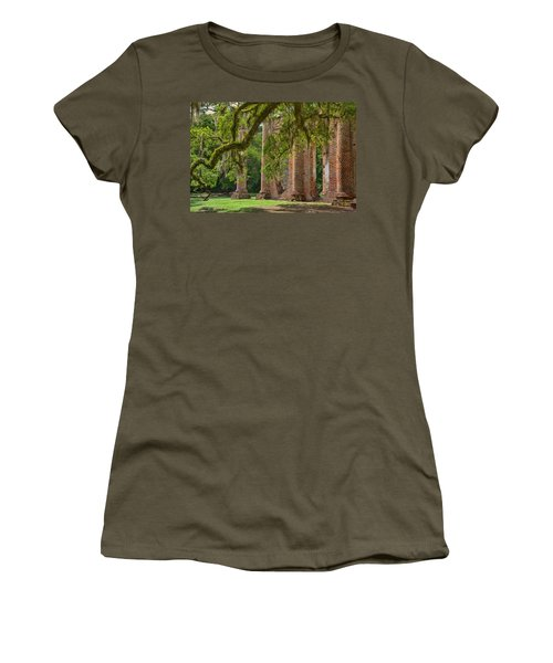 Old Sheldon Church Women's T-Shirt (Athletic Fit)