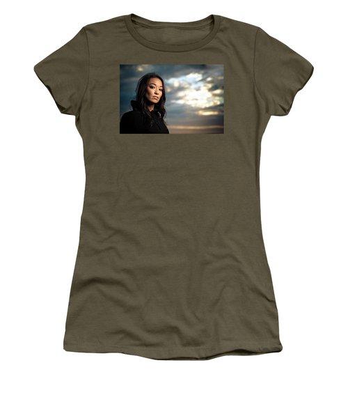 Portrait Of A Young Woman Endurance Women's T-Shirt