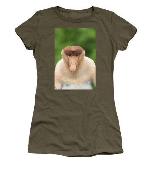 Proboscis Monkey Dominant Male Sabah Women's T-Shirt