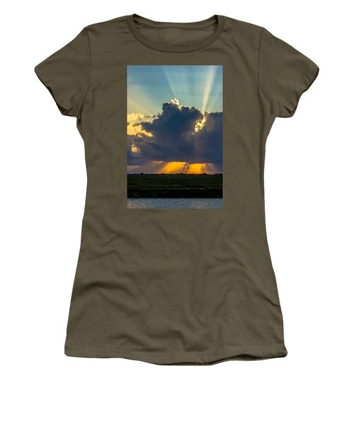 Rays From The Clouds Women's T-Shirt