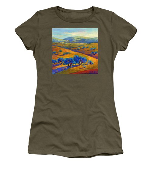 Rolling Hills 1 Women's T-Shirt (Athletic Fit)