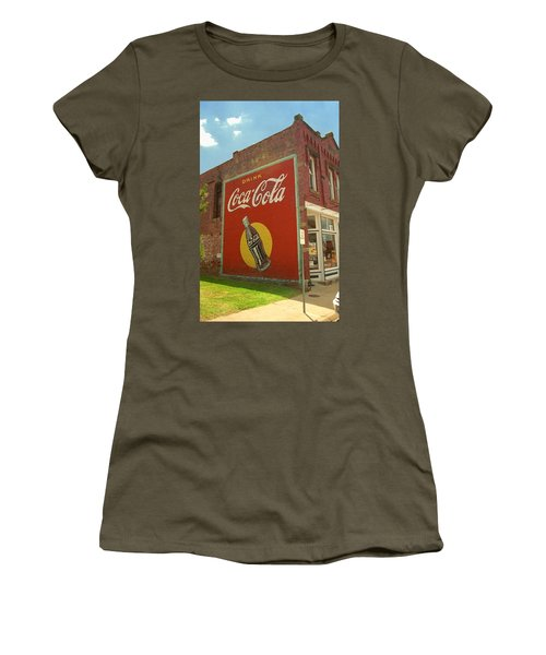 Route 66 - Coca Cola Ghost Mural Women's T-Shirt