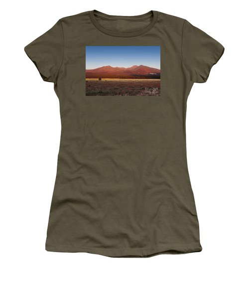 San Francisco Peaks Sunrise Women's T-Shirt