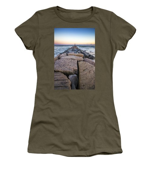 Shinnecock Inlet Jetty Women's T-Shirt
